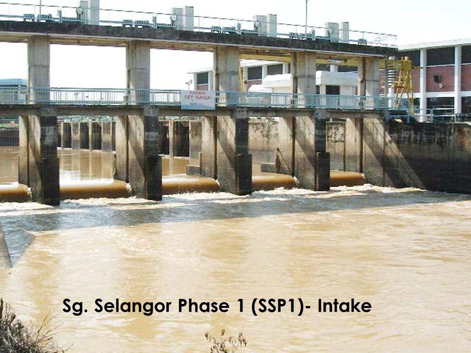 Sg. Selangor Phase 1 (SSP1)- Intake