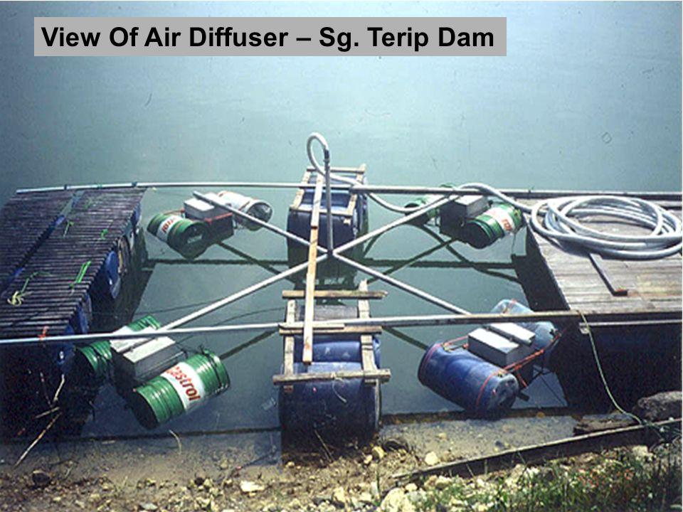 View Of Air Diffuser – Sg. Terip Dam