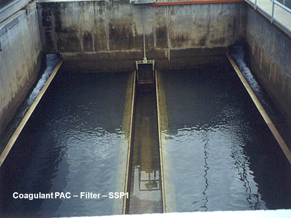 Coagulant PAC – Filter – SSP1