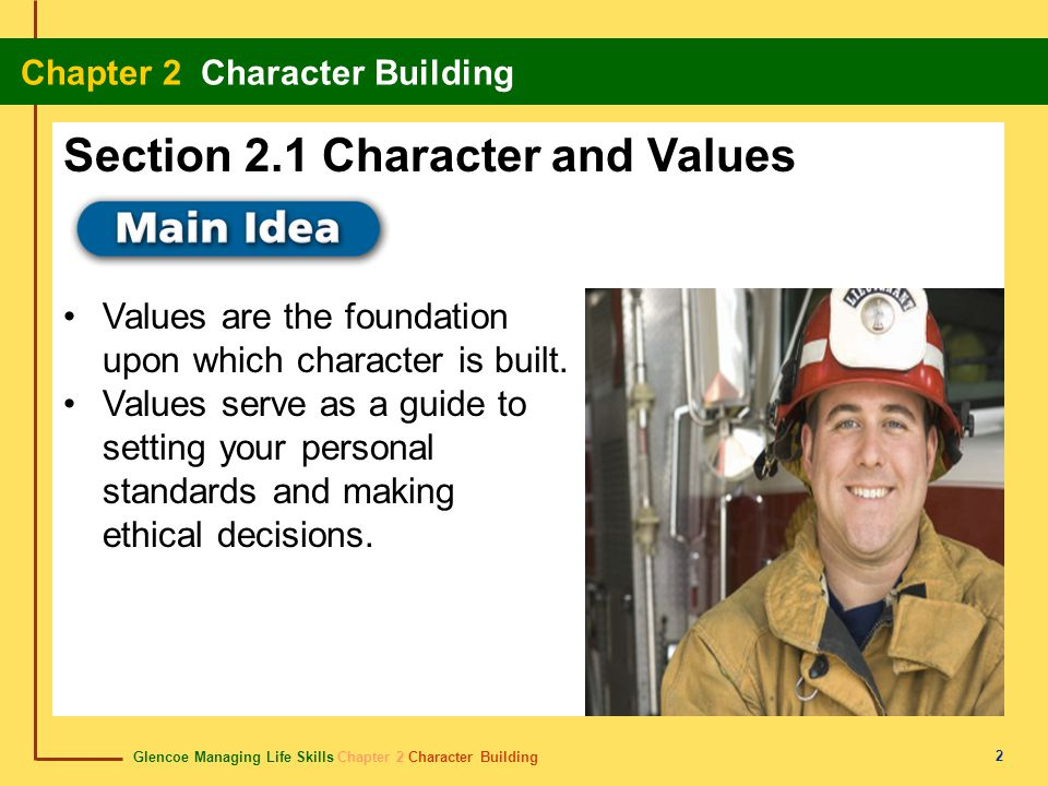 Section 2.1 Character and Values