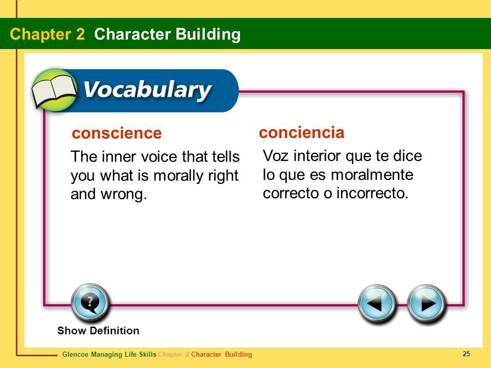 conscience conciencia