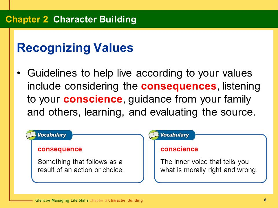 Recognizing Values