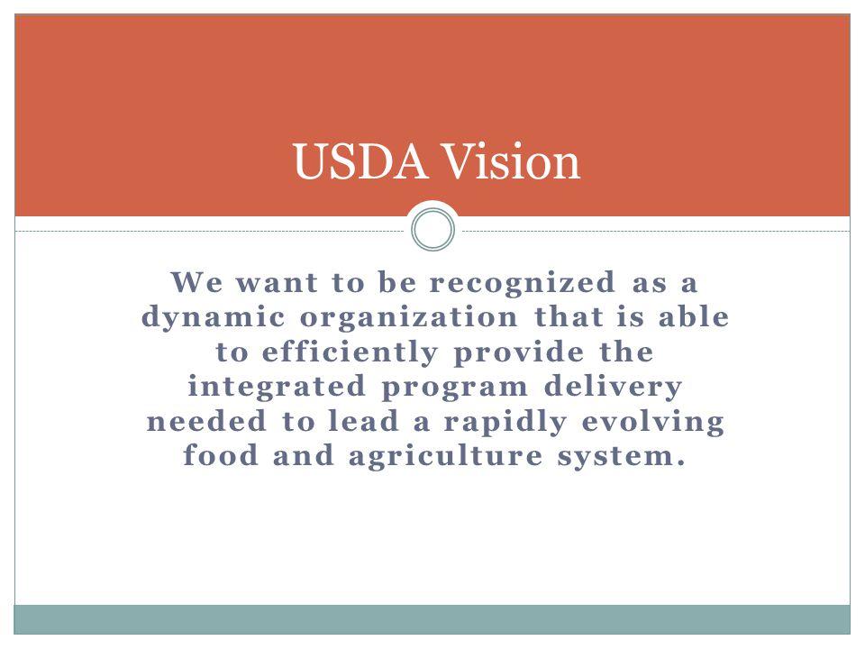 USDA Vision