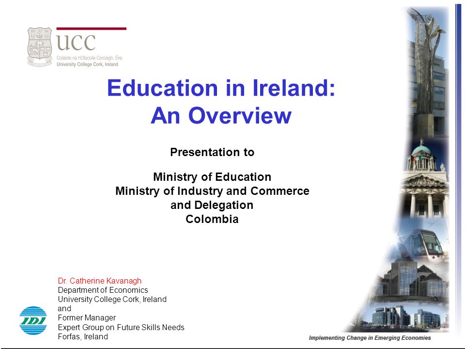 Education in Ireland: An Overview