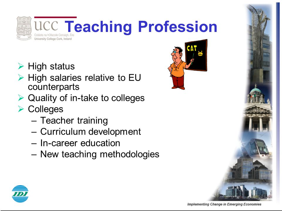 Teaching Profession High status