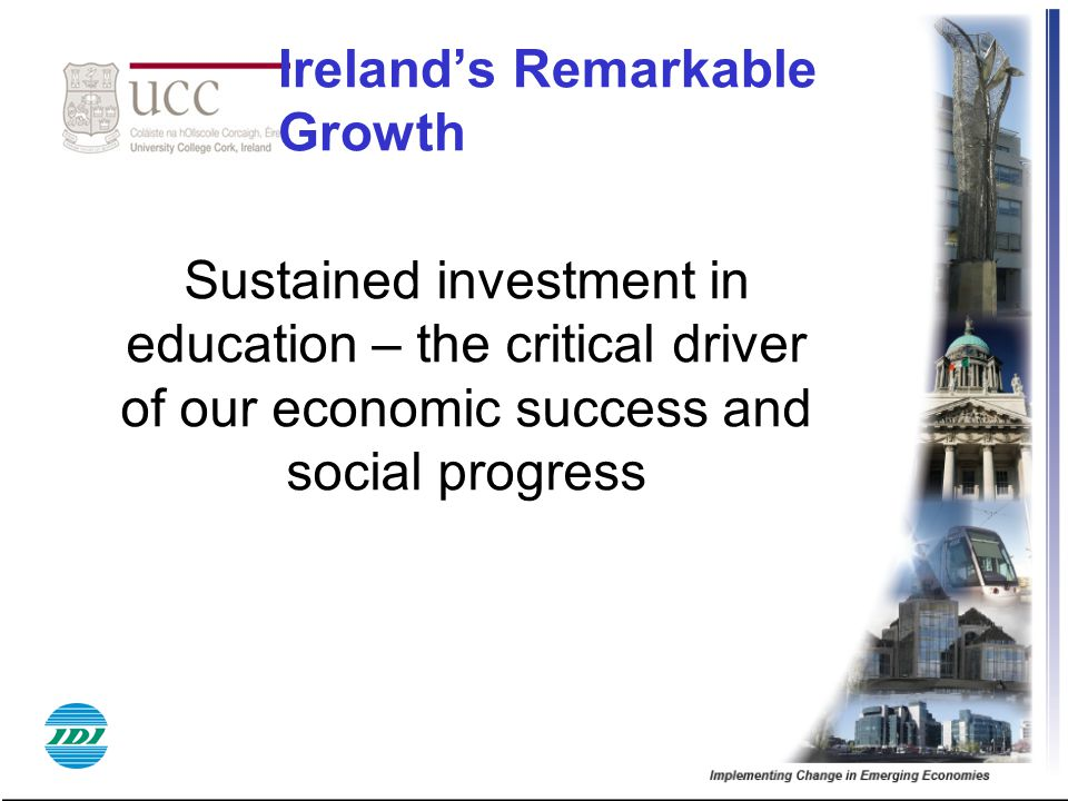 Ireland's Remarkable Growth