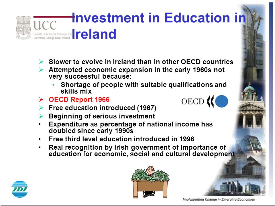 Investment in Education in Ireland