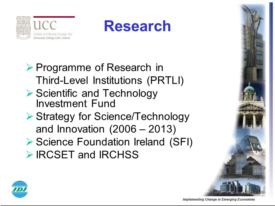Research Programme of Research in Third-Level Institutions (PRTLI)
