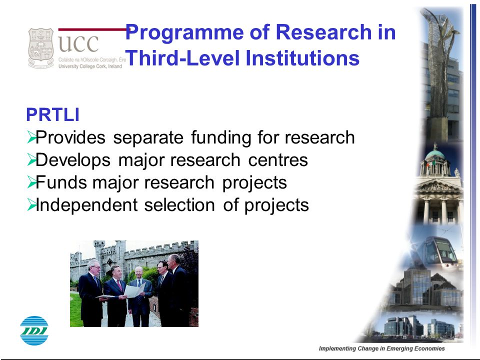 Programme of Research in Third-Level Institutions