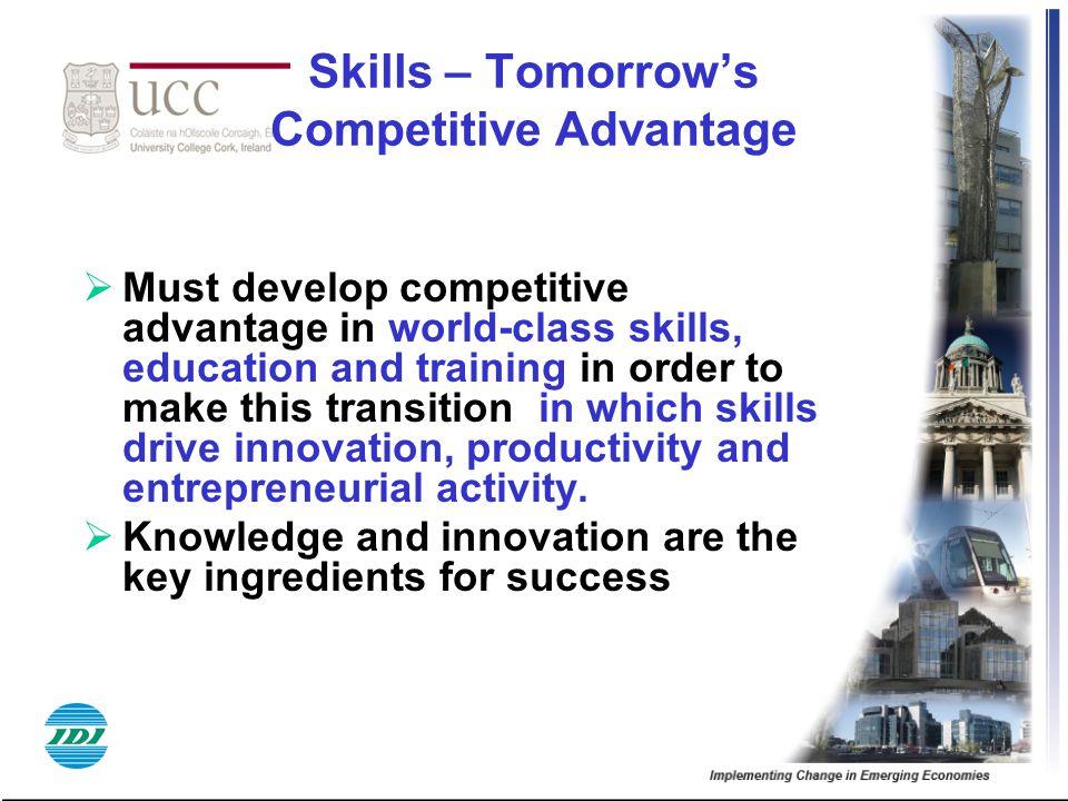 Skills – Tomorrow's Competitive Advantage