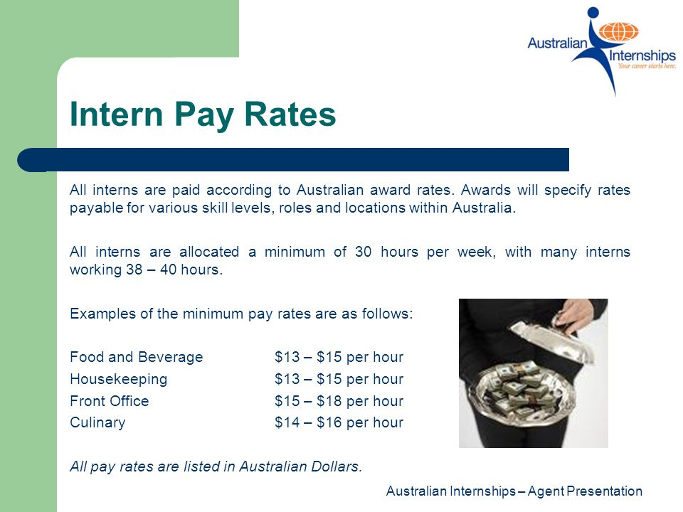 Intern Pay Rates