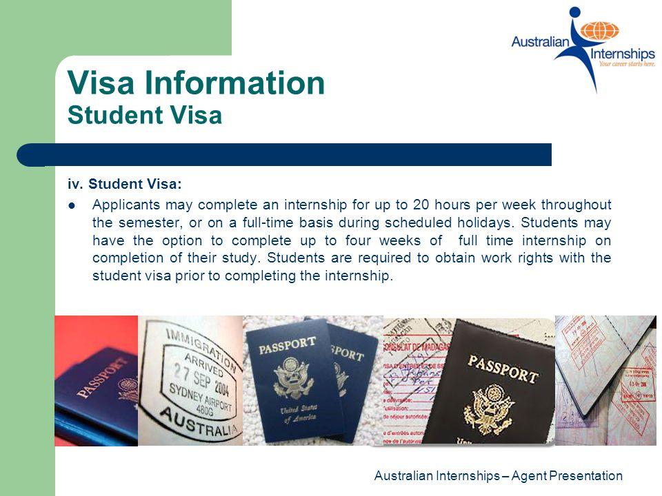 Visa Information Student Visa