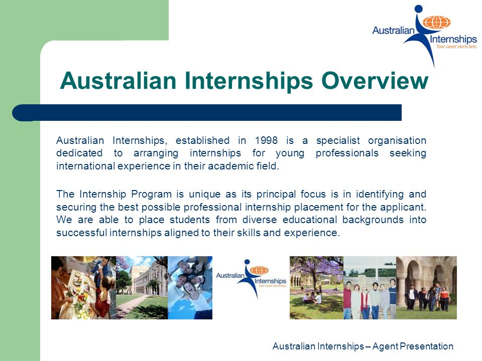 Australian Internships Overview