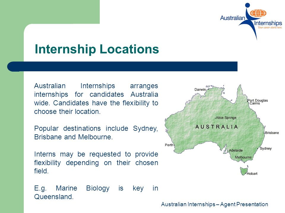 Internship Locations