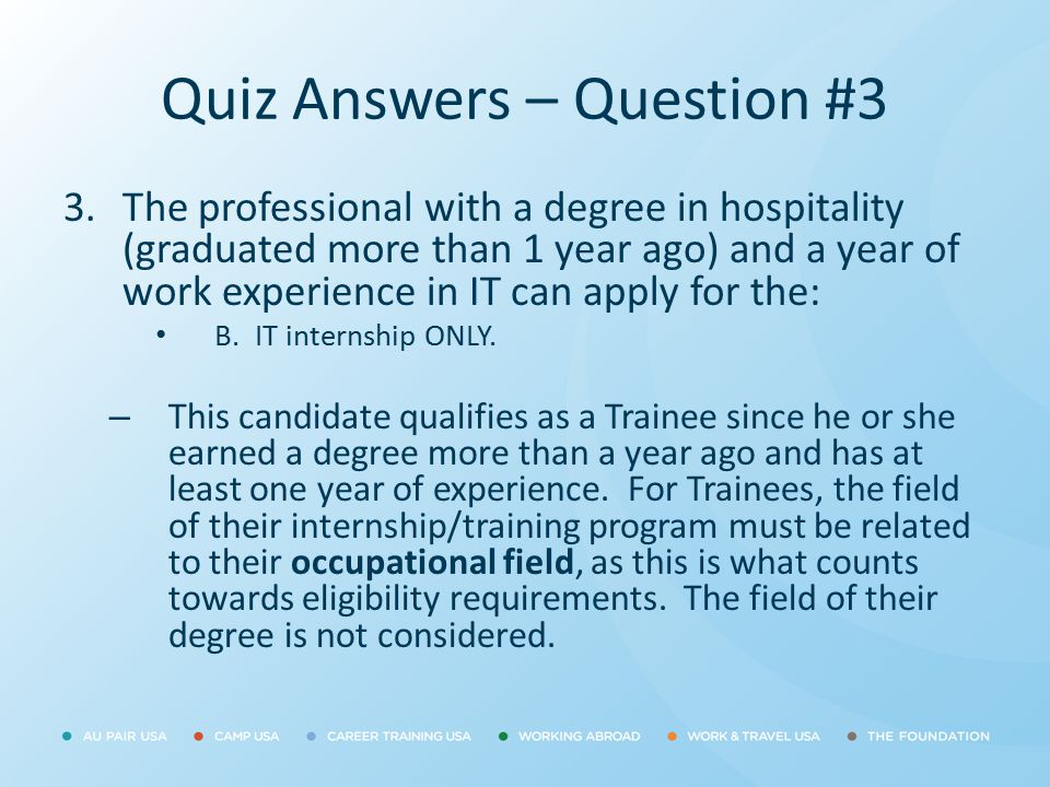 Quiz Answers – Question #3