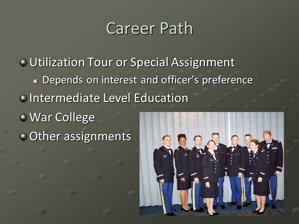 Career Path Utilization Tour or Special Assignment