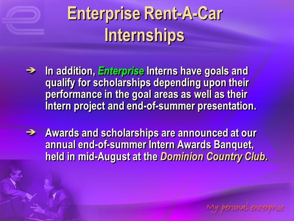 Enterprise Rent-A-Car Internships