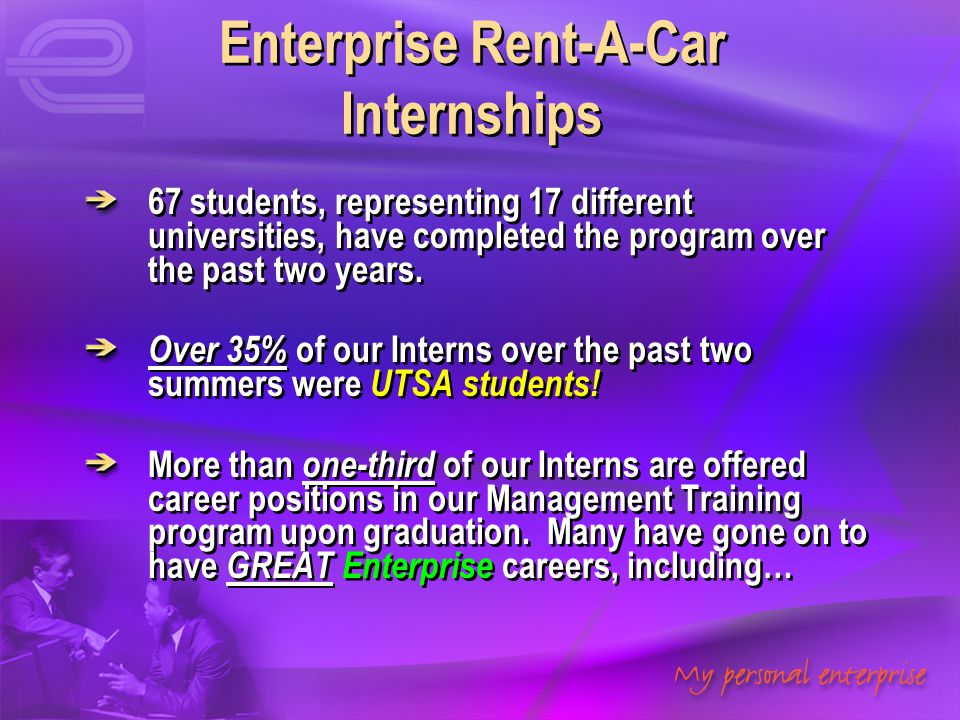 Enterprise Rent-A-Car Internships