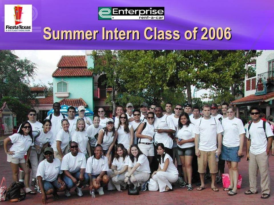 Summer Intern Class of 2006