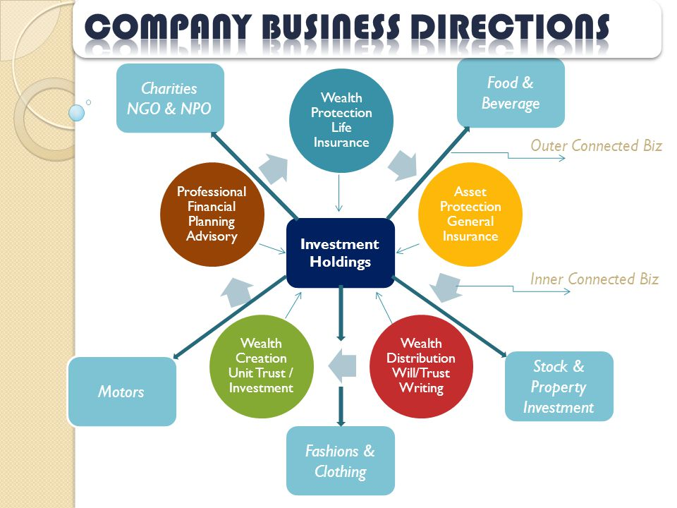 Company business directions