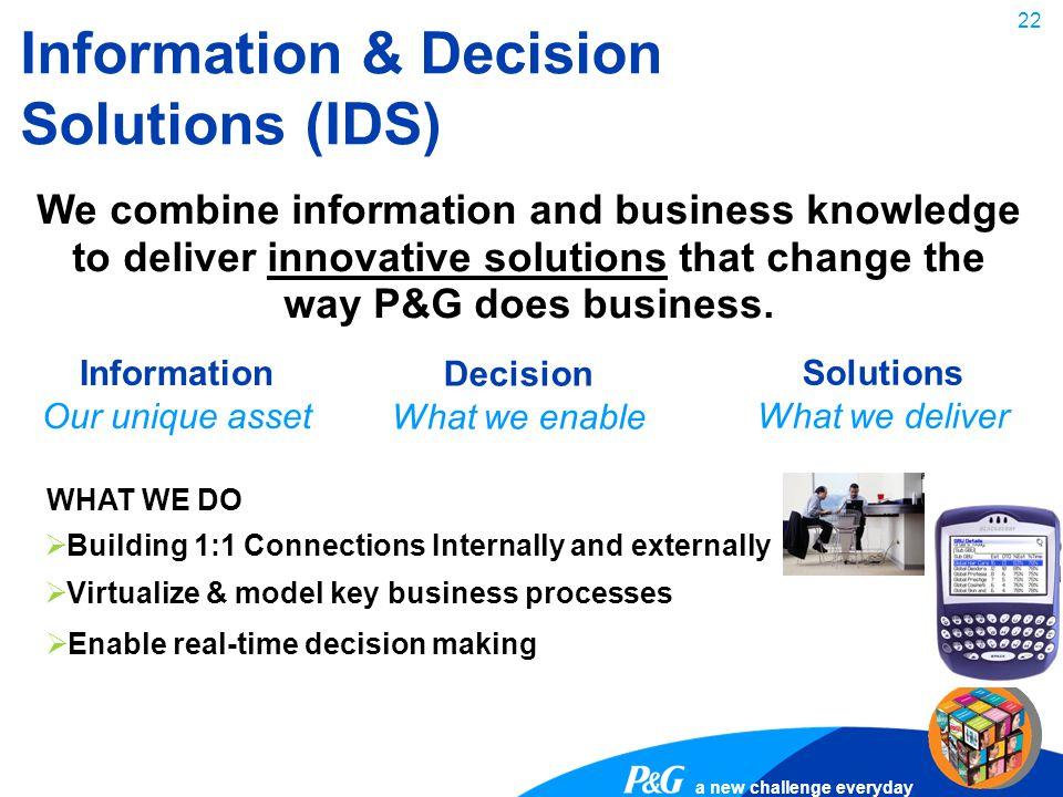 Information & Decision Solutions (IDS)