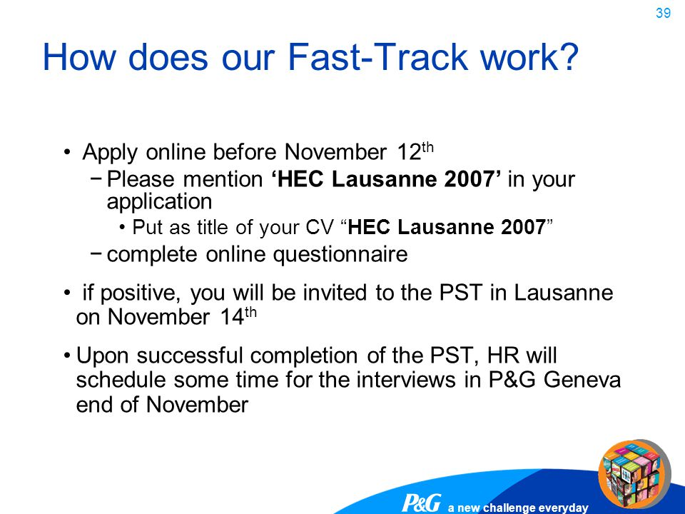 How does our Fast-Track work
