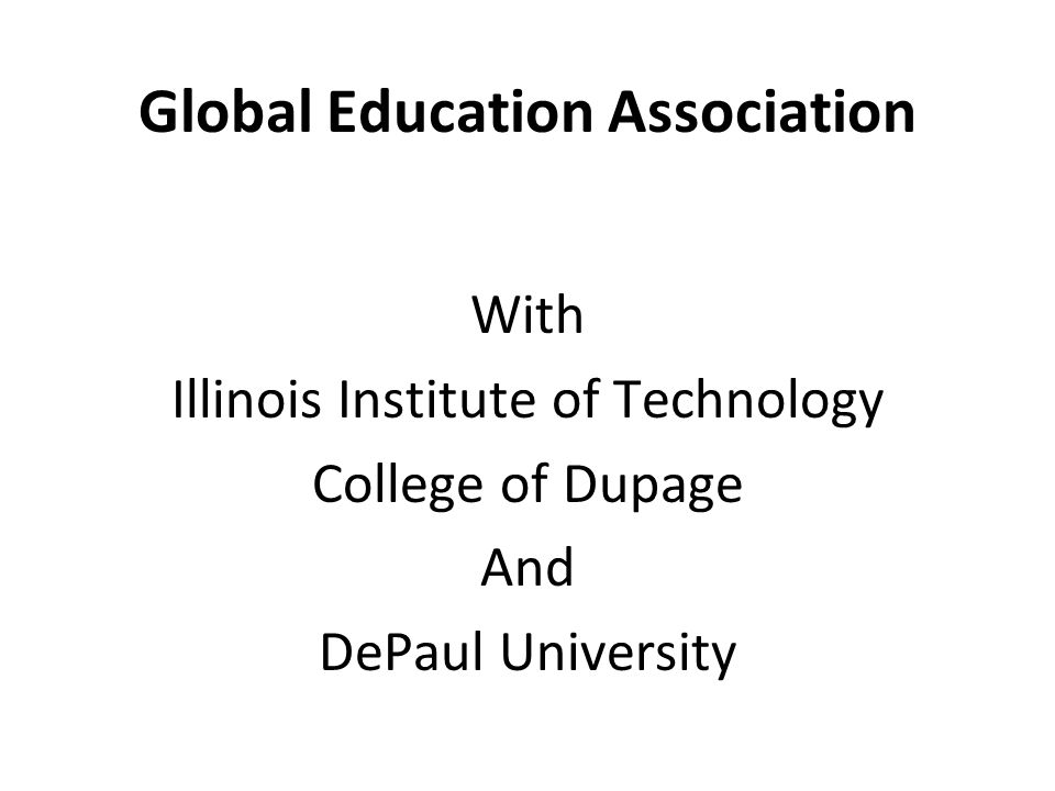 Global Education Association