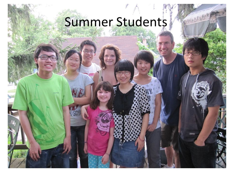 Summer Students