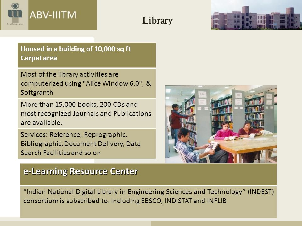 e-Learning Resource Center