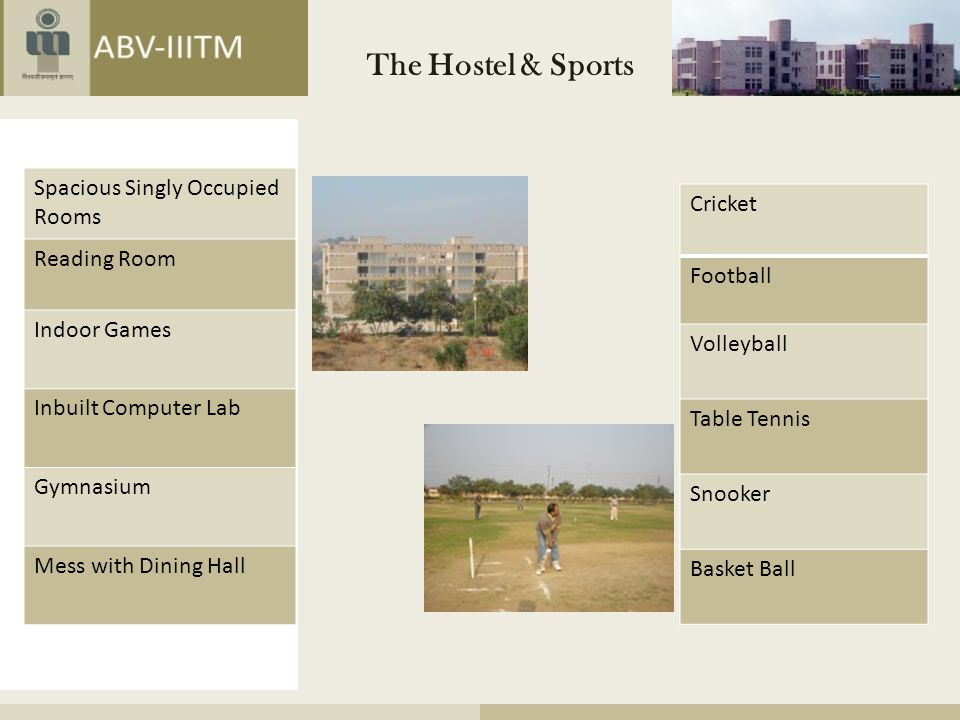 The Hostel & Sports Spacious Singly Occupied Rooms Cricket