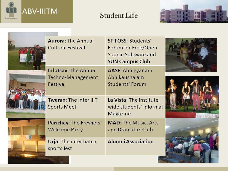 Student Life Aurora: The Annual Cultural Festival