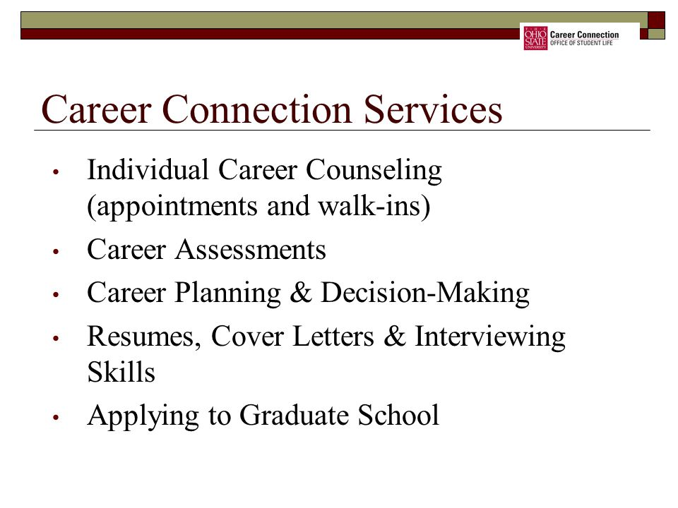 Career Connection Services
