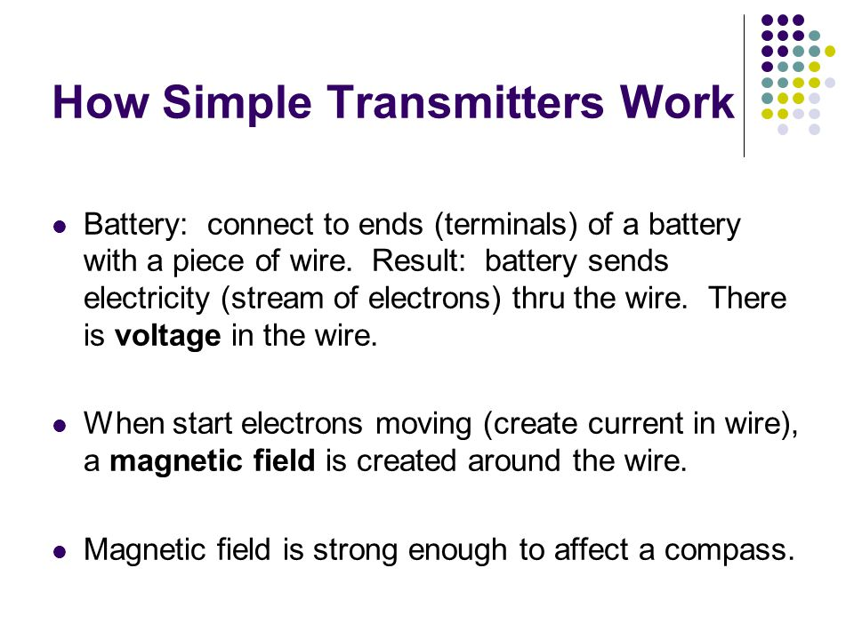 How Simple Transmitters Work