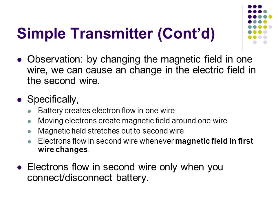 Simple Transmitter (Cont'd)