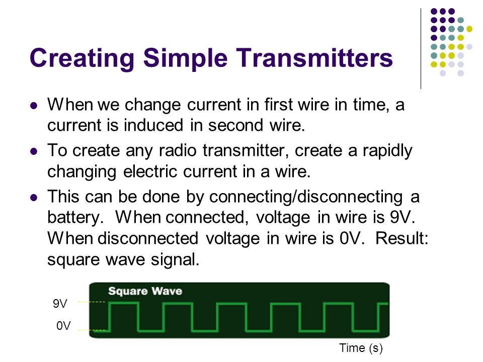 Creating Simple Transmitters