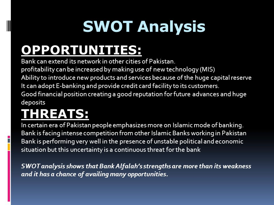Bank of Baroda SWOT Analysis, Competitors & USP