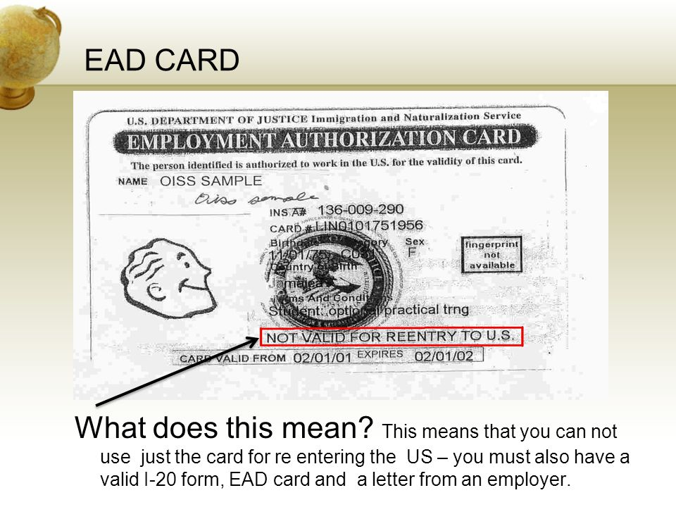EAD CARD Insert a picture of one of the points of interest for your country.