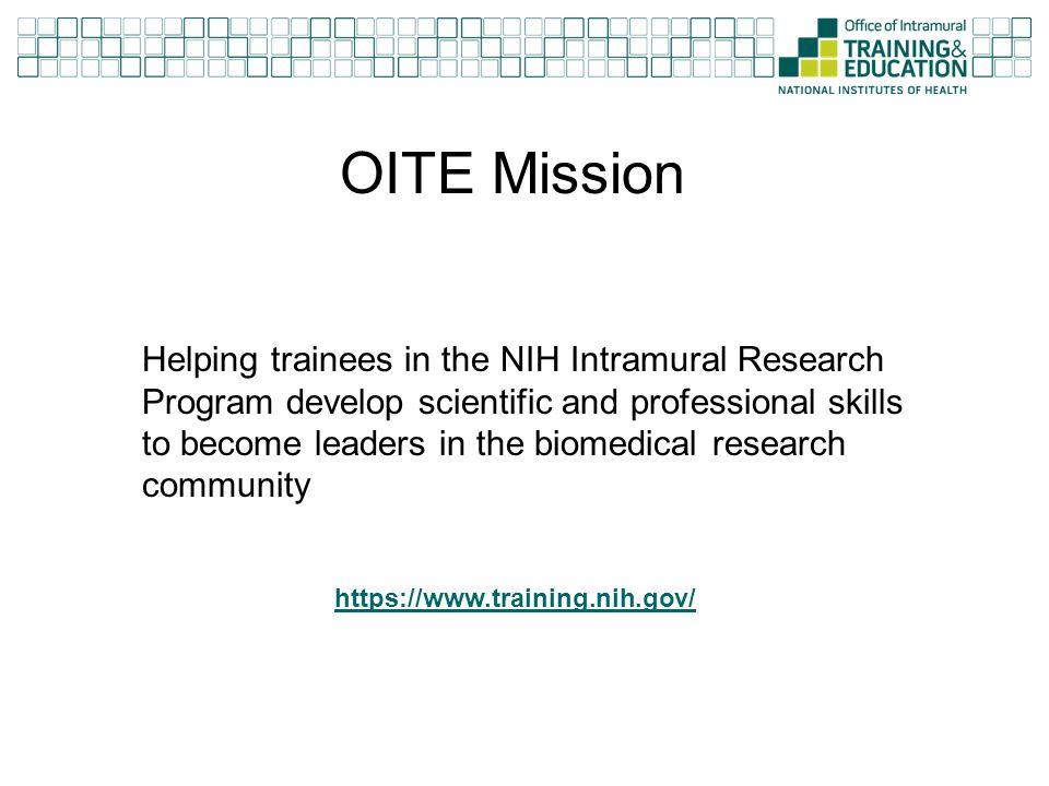 OITE Mission