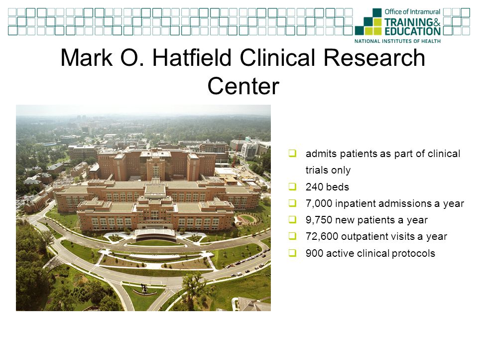 Mark O. Hatfield Clinical Research Center