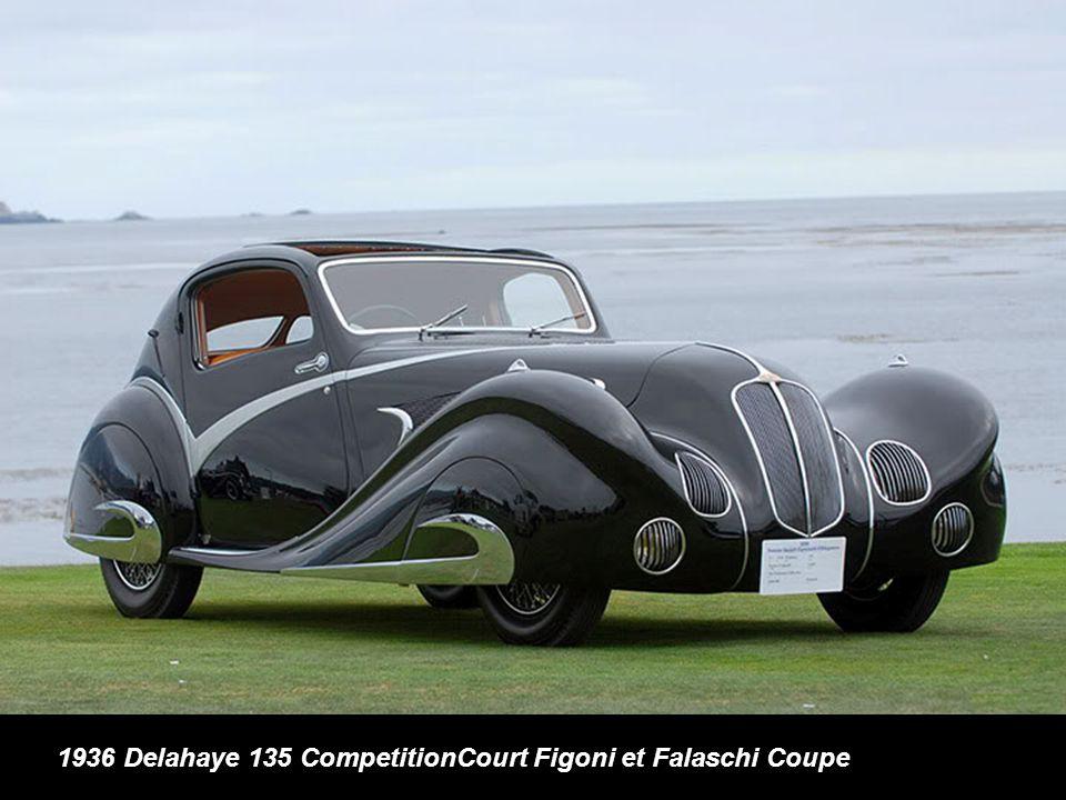 1936 Delahaye 135 CompetitionCourt Figoni et Falaschi Coupe