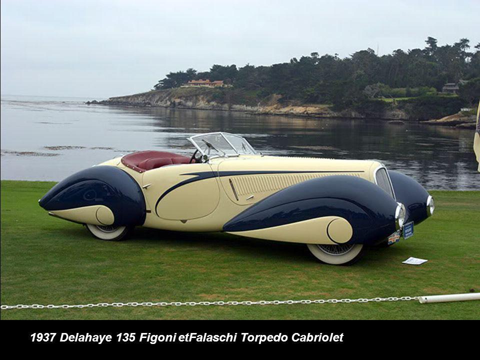 1937 Delahaye 135 Figoni etFalaschi Torpedo Cabriolet