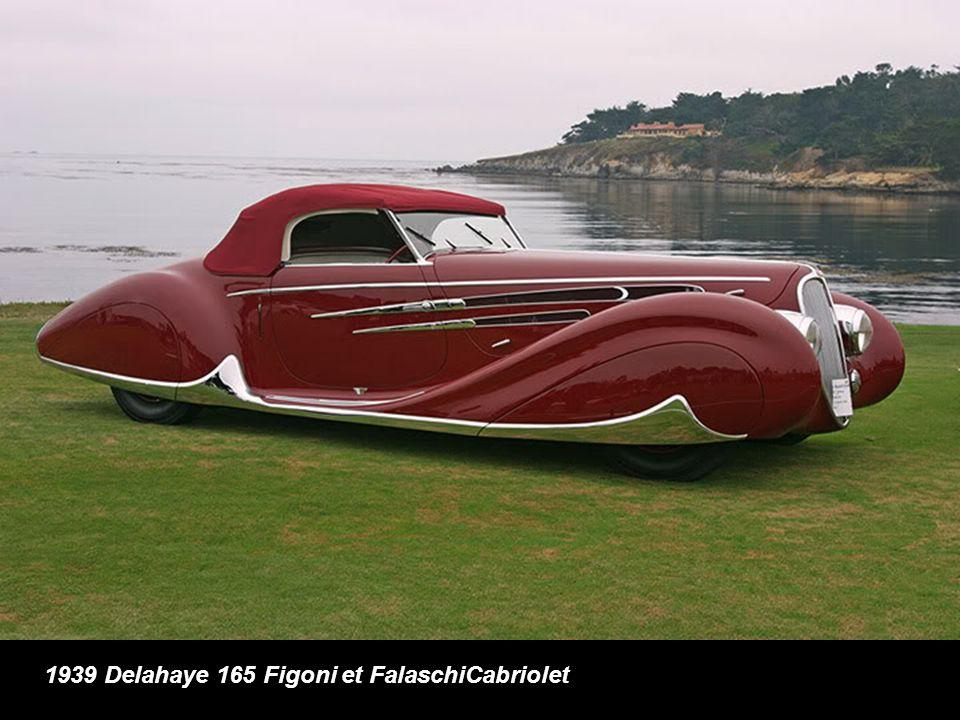 1939 Delahaye 165 Figoni et FalaschiCabriolet