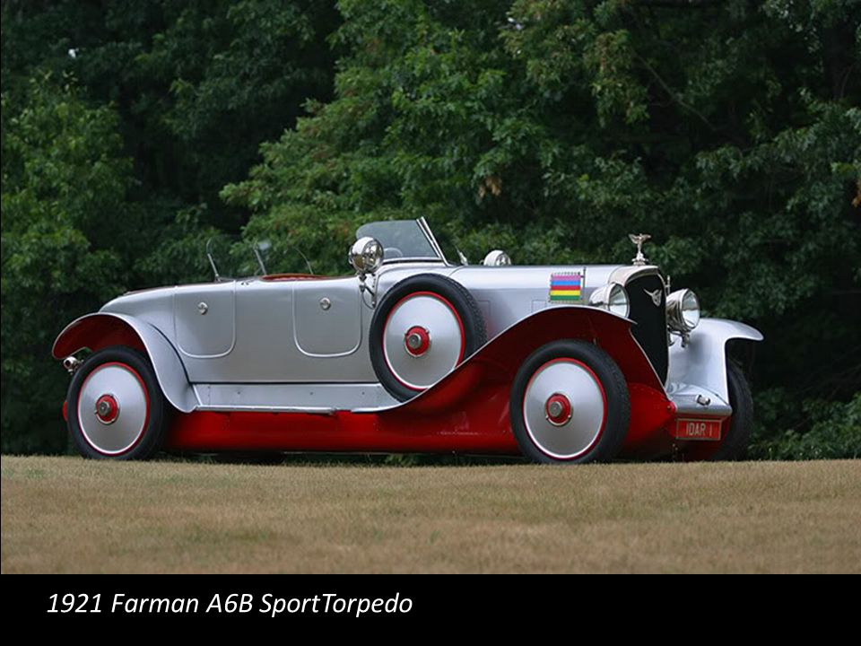 1921 Farman A6B SportTorpedo