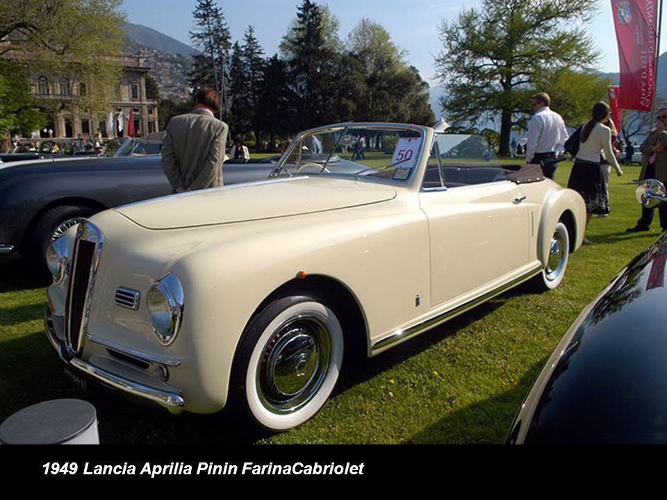 1949 Lancia Aprilia Pinin FarinaCabriolet