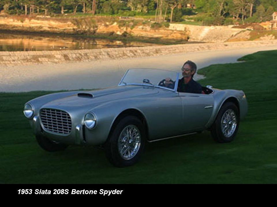 1953 Siata 208S Bertone Spyder