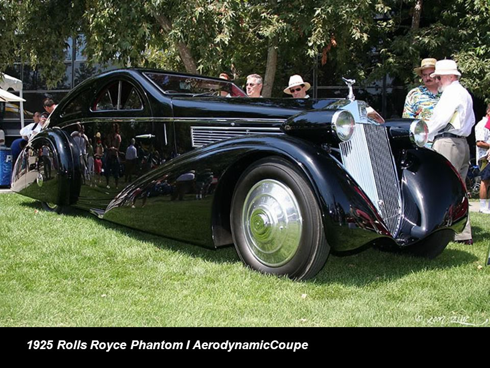 1925 Rolls Royce Phantom I AerodynamicCoupe
