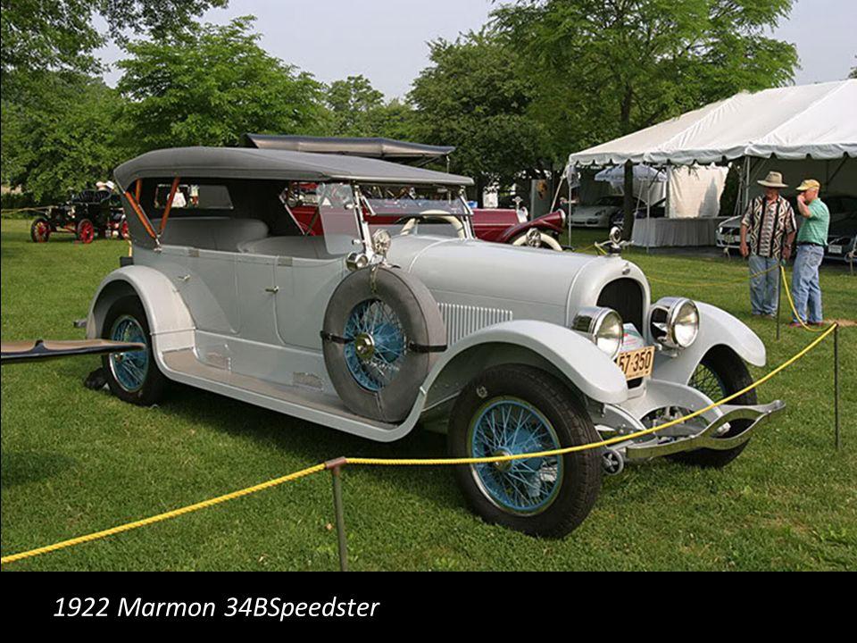 1922 Marmon 34BSpeedster