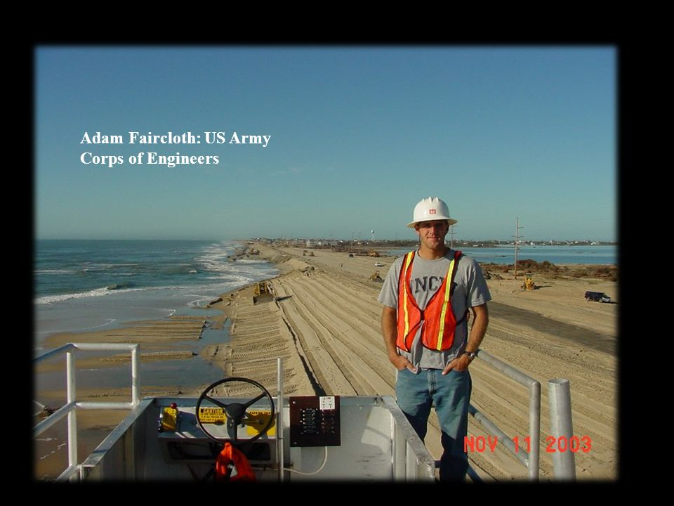Adam Faircloth: US Army Corps of Engineers