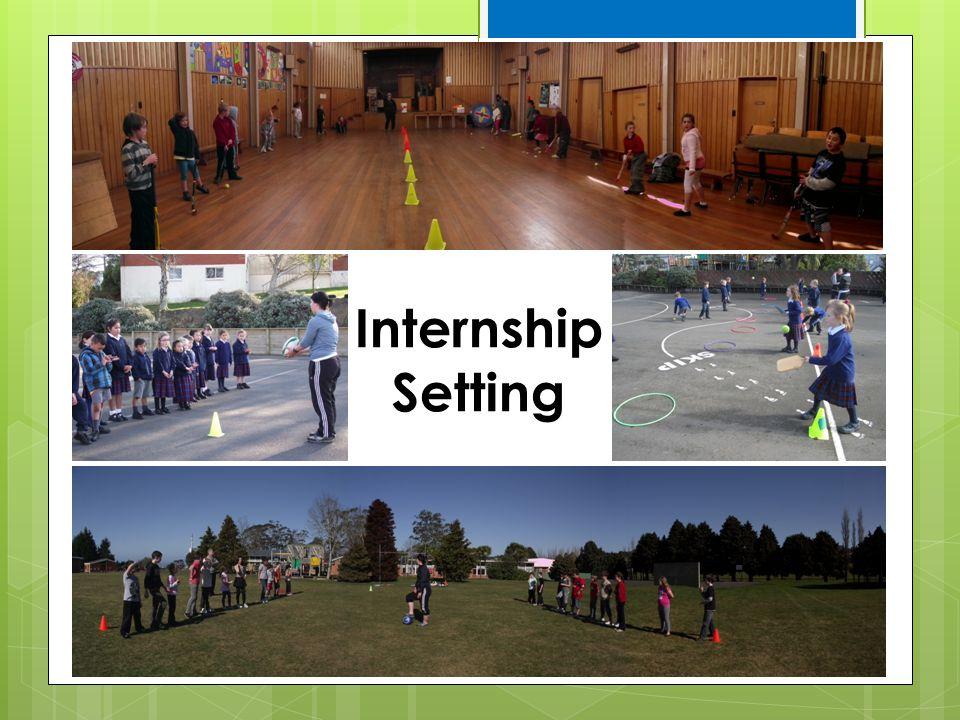 Internship Setting