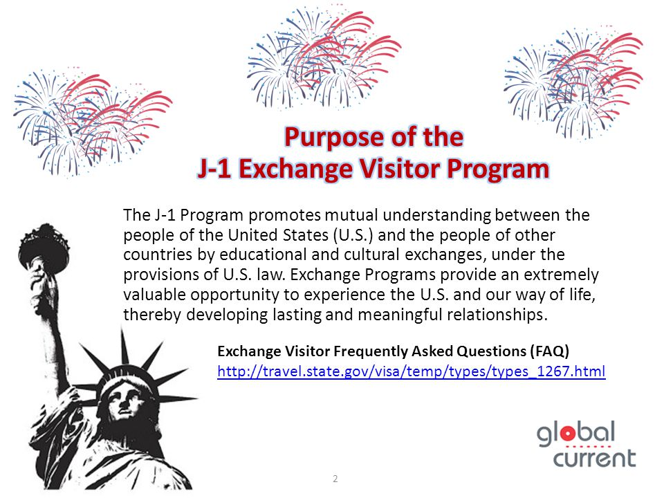 J-1 Exchange Visitor Program